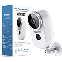 $41 » Wireless Outdoor Security Camera 1080P Rechargeable Battery Powered WiFi Camera with…