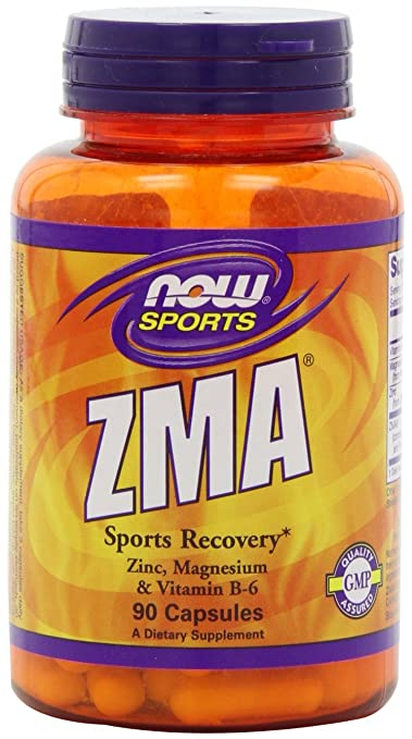 NOW Sports ZMA,90 Capsules