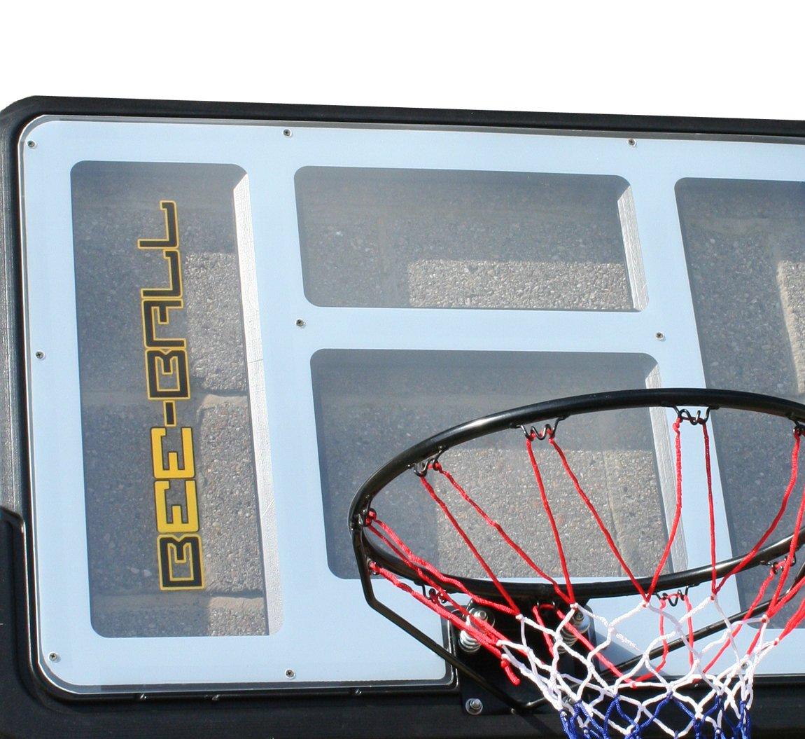 BEE BALL ZY Canasta de baloncesto de tamaño reglamentario con marco aro