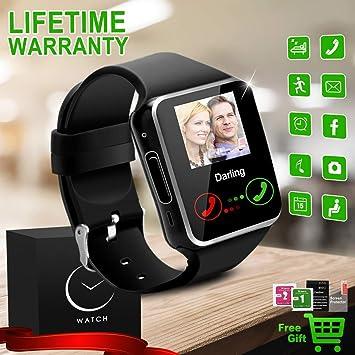 Reloj Inteligente Bluetooth Smartwatch Relojes Deportivos con ...
