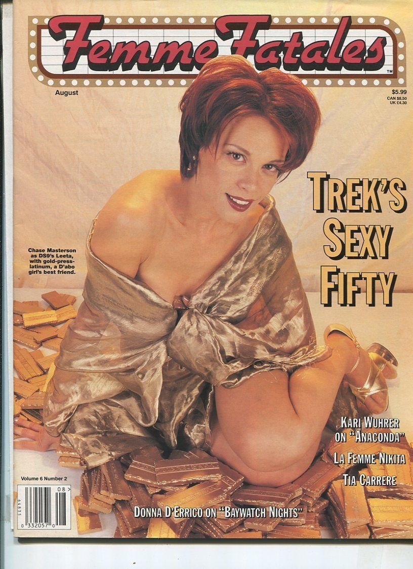 Amazon com: Femme Fatales Vol 6#2 Aug  1997Chase Masterson