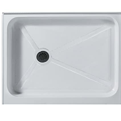 Delicieux VIGO 32 X 48 In. Rectangular Shower Base Left Drain, White