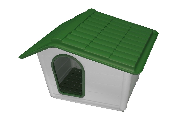 Domus DOGGY.21 - Cuccia Para Perros Resina, Gris/Verde: Amazon.es: Bricolaje y herramientas