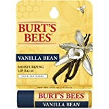 Burt's Bees 100% Natural Moisturizing Lip Balm, Vanilla Bean - 1 Tube