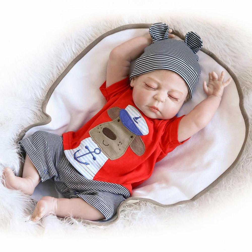 barato y de moda SHTWAD SimulacióN Bebé Reborn Realista Silicona para ReciéN NiñO Navidad Navidad Navidad Regalo Juguetes 56cm  ventas en línea de venta