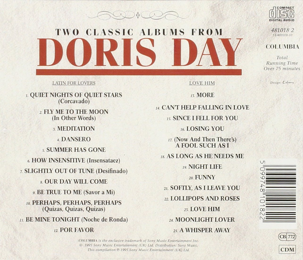Latin For Lovers by Day, Doris