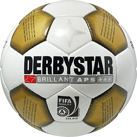 Derbystar brillant APS Jupiler League fútbol - blanco/oro, color ...