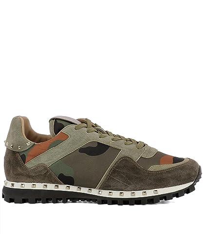 Valentino Garavani , Herren Sneaker Grün Camouflage Verde