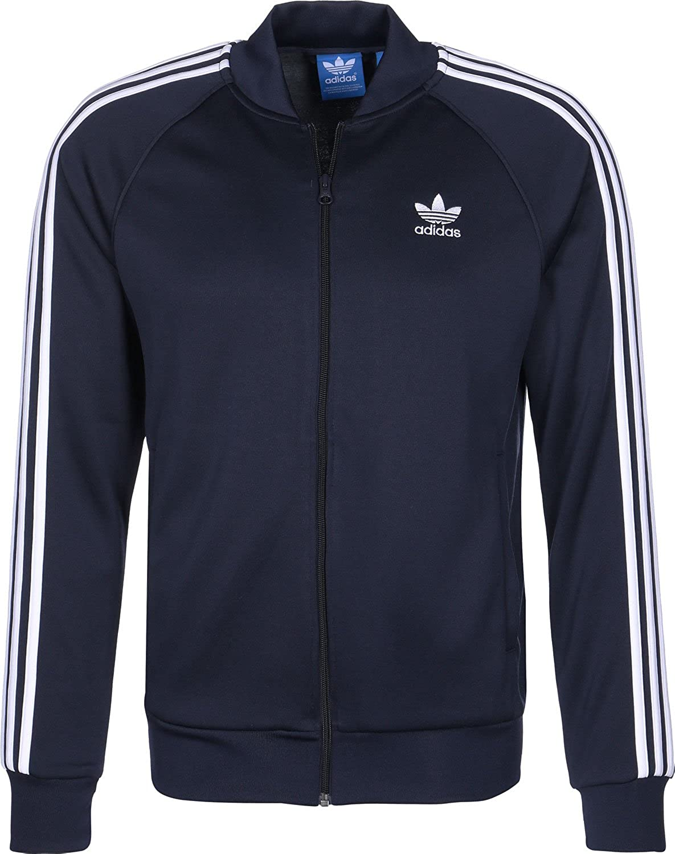 adidas Herren Sport ID Bomberjacke Jacke, blau, XL: Amazon