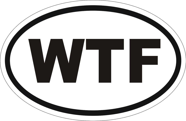 "Back Off Oval Funny Car Bumper Vinyl Sticker Decal 6/""X4/"""
