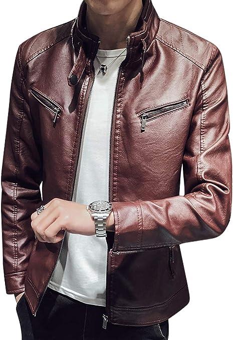 [ラクサス] 【冬物処分セール】 メンズ レザージャケット バイクジャケット ライダーズジャケット 秋冬 ライトアウター ジップアップ