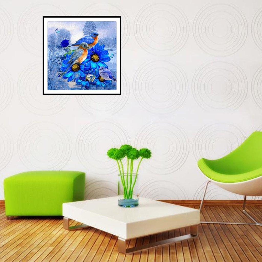 1 Pintura de diamantes 5D de AIYIYOO con dise/ño de mariposas para bordar punto de cruz para decoraci/ón del hogar As the picture shown
