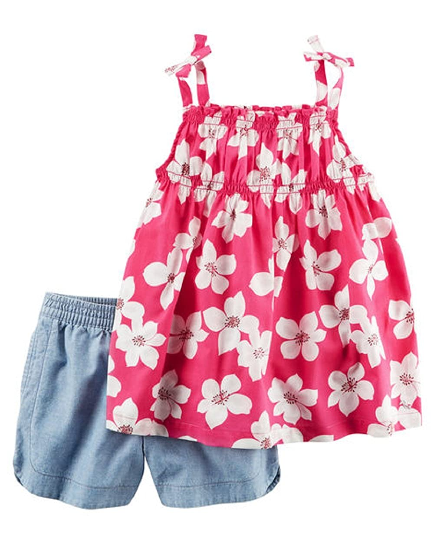Carters Girls 2 Pc Playwear Sets 259g356