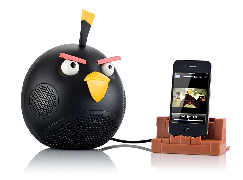 Gear4 Angry Birds Speaker Black Bird