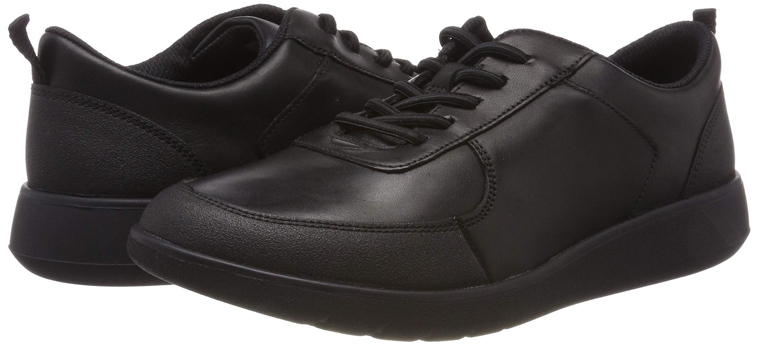 CLARKS Boys' Scape Street Y Brogues, (Black Leather-), 3 UK by CLARKS (Image #5)