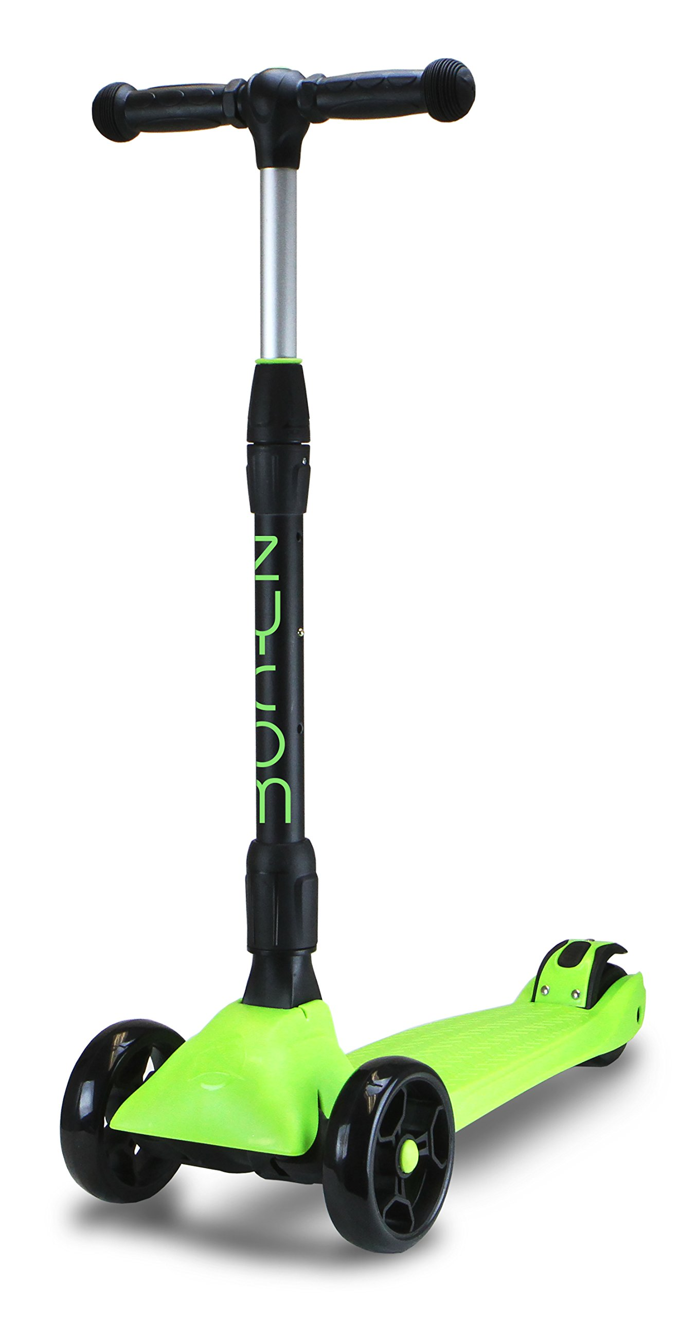 Zycom Zinger 3 Wheel Scooter, Black/Lime Green