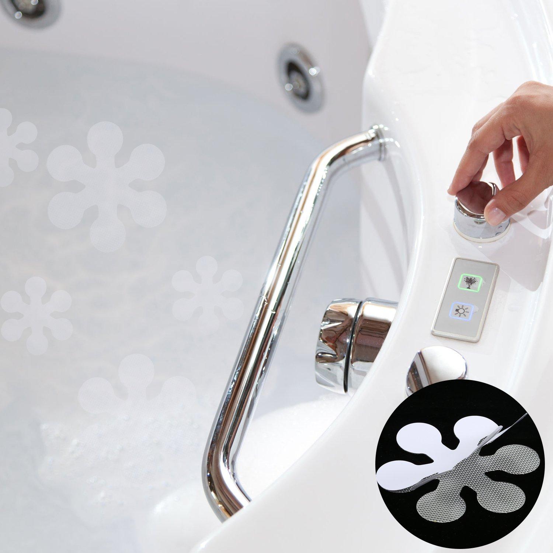 Kess InHouse CarolLynn TICE Shuffling Teal Blue Memory Foam Bath Mat 17 by 24