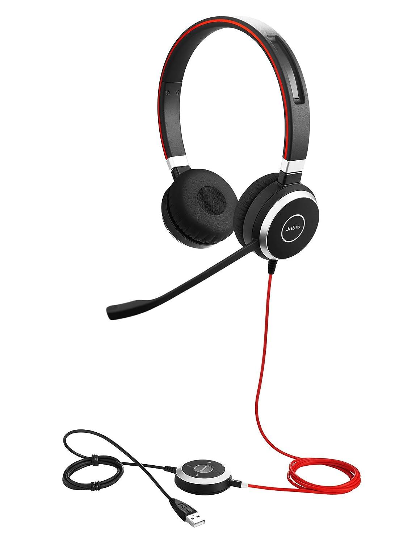 Jabra Evolve 40 cascos estéreo y mono para oficina inalámbricos con Bluetooth®, negro: Amazon.es: Electrónica