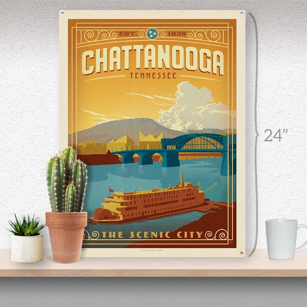 Amazon Com Anderson Design Group Chattanooga Tn 18 X24