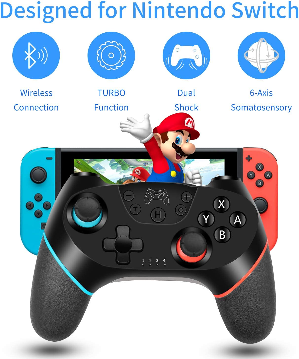 Amazon Promo Code 2020 for Wireless Switch Pro Controller Gamepad