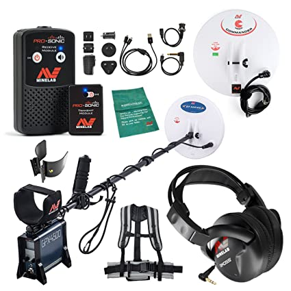 Amazon.com : Minelab GPX 4500 Metal Detector Special with PRO-SONIC Wireless Audio System : Garden & Outdoor