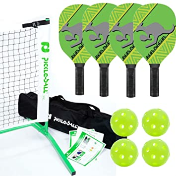 Amazon.com: Kanga Pickleball neta neta, Paddle y juego de ...