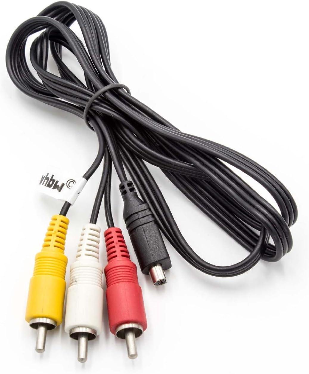 VMC-30FS CABLE AV PARA CAMARAS SONY Serie DCR-HC; para reemplazo de cables modelos VMC-15FS+S