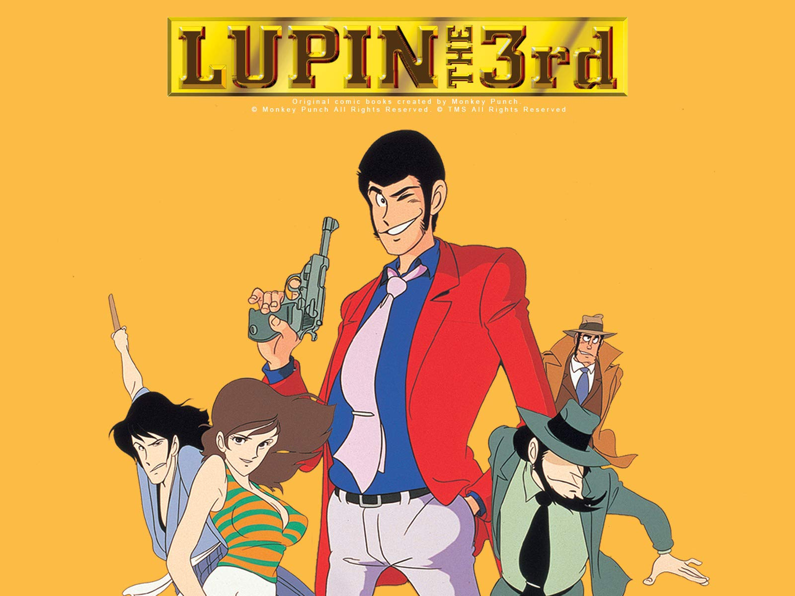 Lupin the 3rd, Part 2 (English Dub) on Amazon Prime Video UK