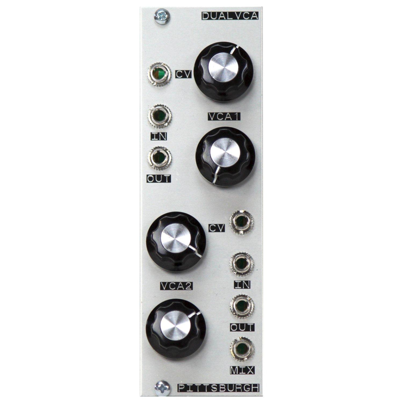 Pittsburgh Modular Dual VCA Eurorack Module by Pittsburgh Modular