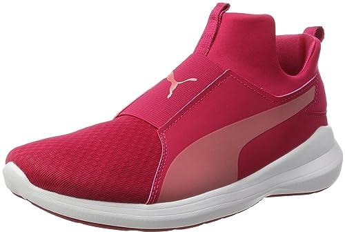 3d04385fe9bcb Women s Rebel Mid WNS Pink Sneakers-5 UK India (38 EU) (36453905 ...