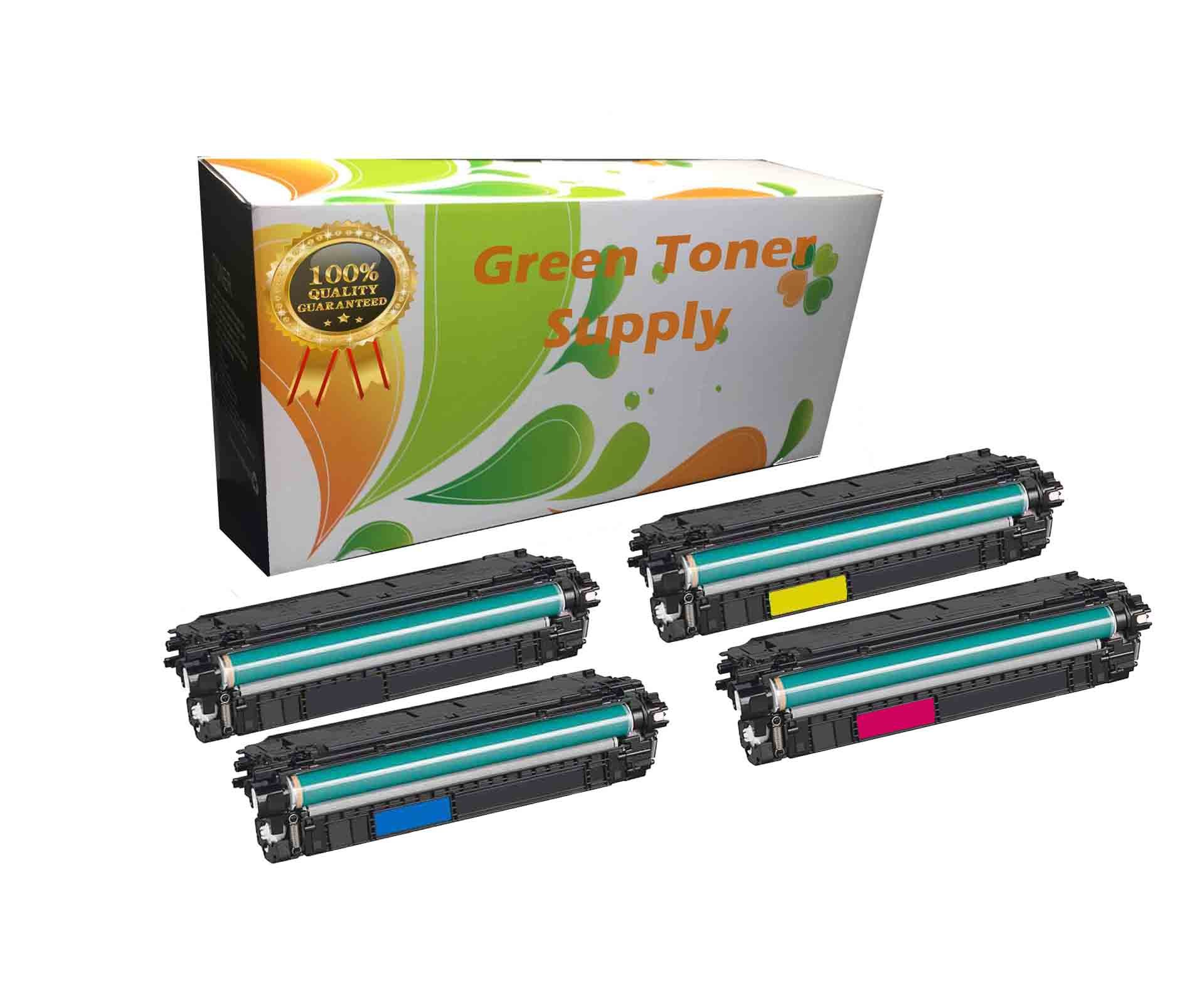 GTS Compatible Toner Cartridge Replacement for HP CF360A ( Black , 4-Pack )
