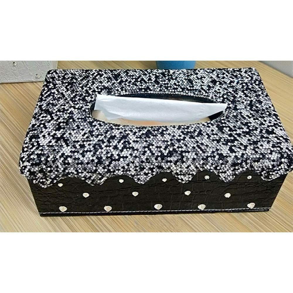 CWLLWC Tissue-Box, rechteckige Box, Serviette, Tablett, Aufbewahrungsbox, Aufbewahrungsbox, Aufbewahrungsbox, Hotel, Haushalts-Tissue-Box B07MXCJ5FK Toilettenpapieraufbewahrung 6e56c9