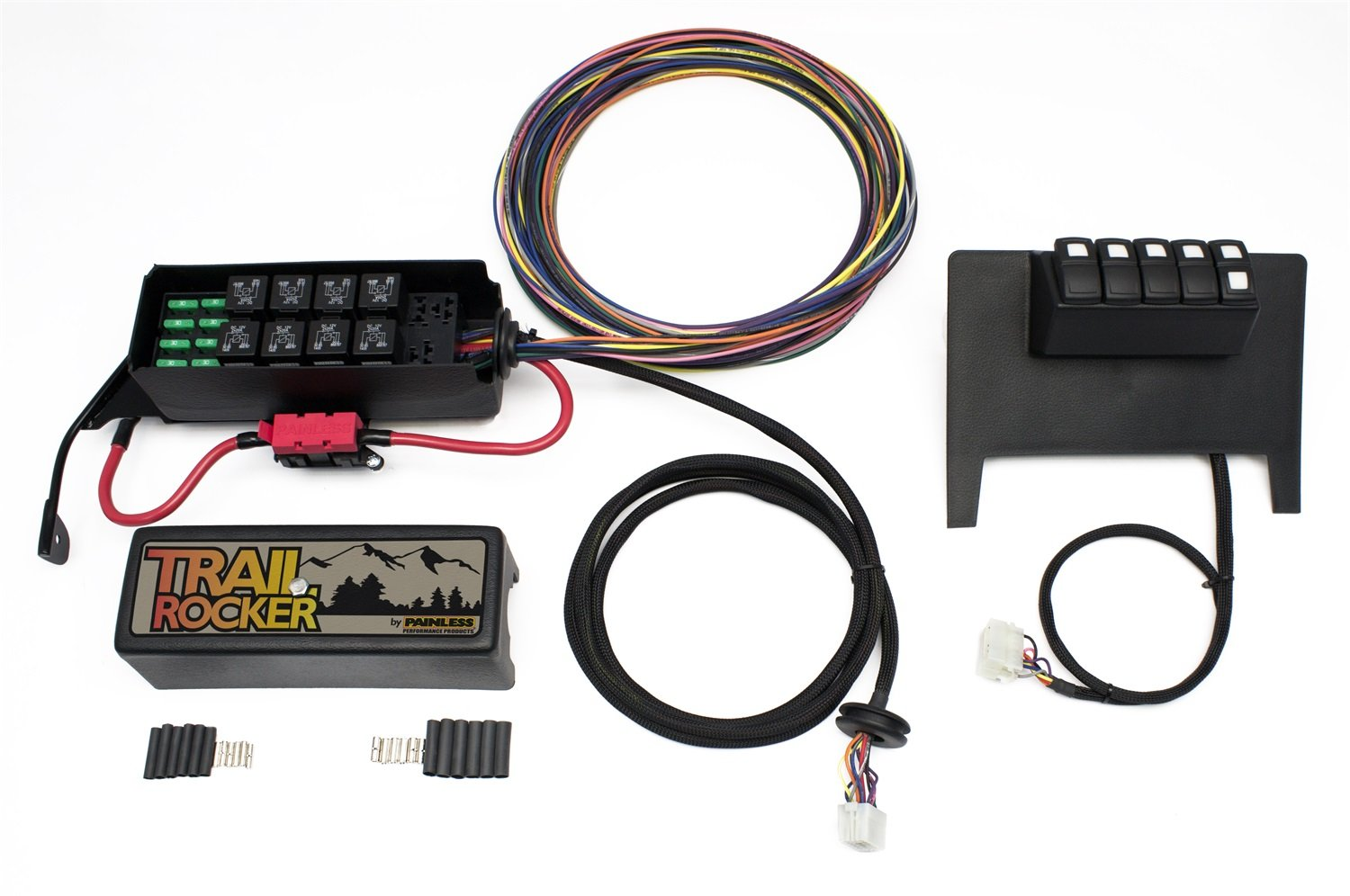 Painless 57000 Trail Rocker Kit Automotive Wiring Installation
