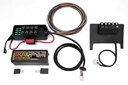 Awesome Amazon Com Painless Wiring 57000 Trail Rocker Kit 11 15Wrangler Jk Wiring 101 Eattedownsetwise Assnl