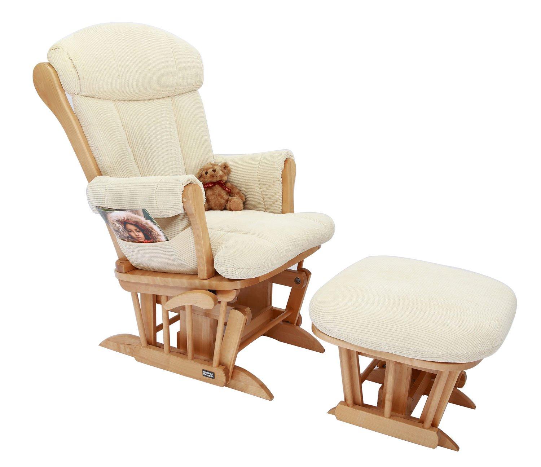 Tutti Bambini Rose Glider Chair Natural Amazon Baby