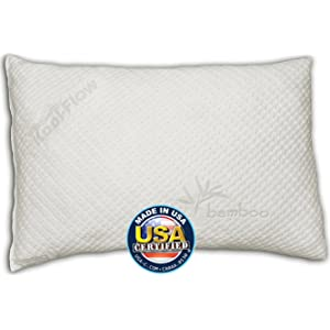 Snuggle-Pedic Ultra-Luxury Kool Flow Memory Foam Pillow