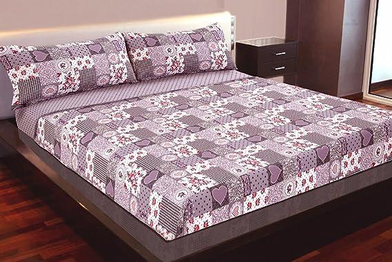 Juego de sábanas Algodón 100% (LOVE, para cama de 150x190/200): Amazon.es: Hogar