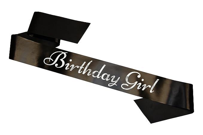 Banda de Cumpleaños Birthday Girl Sash 16th 18th 21st 30th ...