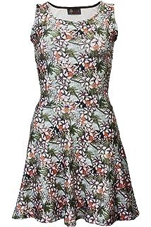 Insanity Clothing Damen Skater Kleid Mehrfarbig Mehrfarbig S M, M L, L c9cfbbc635