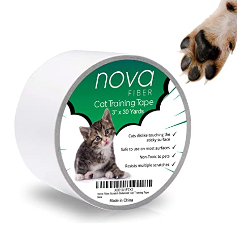 Awesome Nova Fiber Scratch Deterrent Cat Training Tape 3 Inch X 30 Yards Stop Your Pet From Scratching Furniture Chairs Sofas Textiles Bed Posts Etc Short Links Chair Design For Home Short Linksinfo