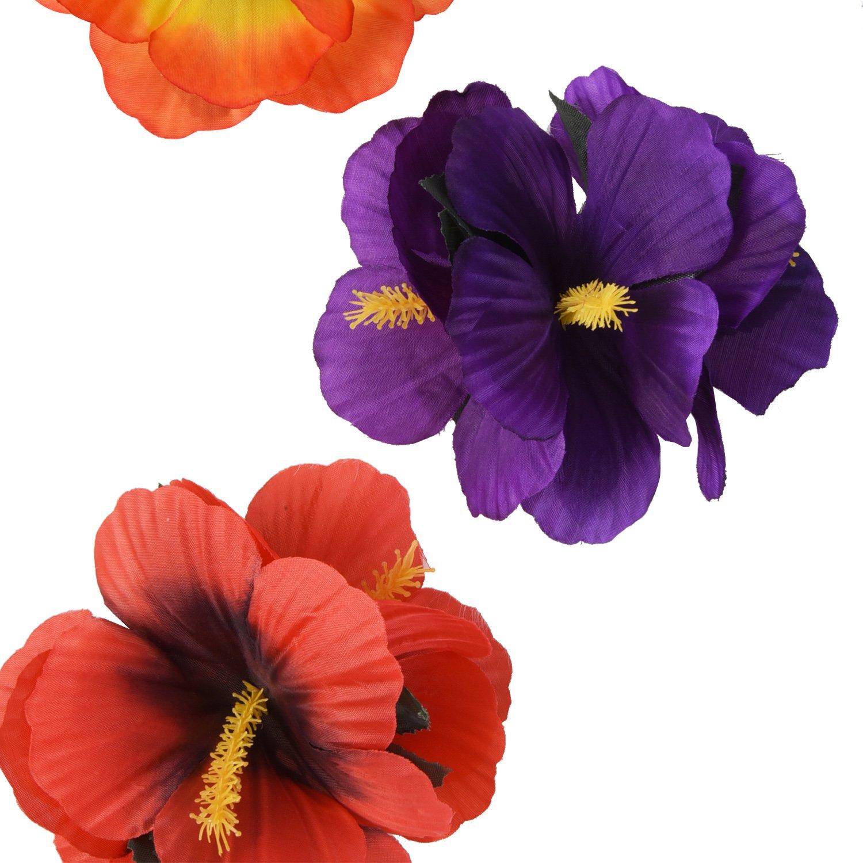 Sumind Pinzas Hawaianas de Flores de Pelo Clips de Pelo para ...
