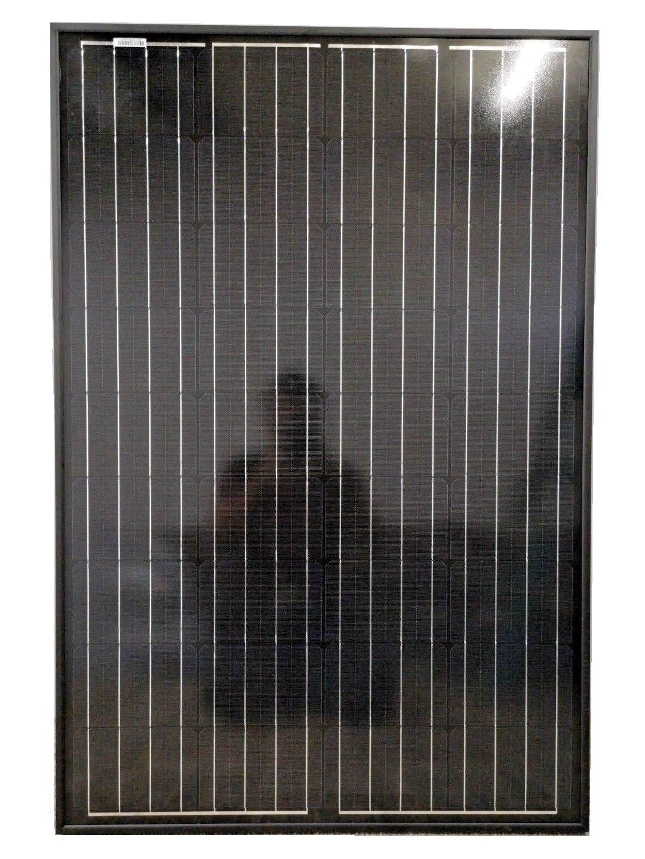 Panel solar monocristalino completo negro (80 W)
