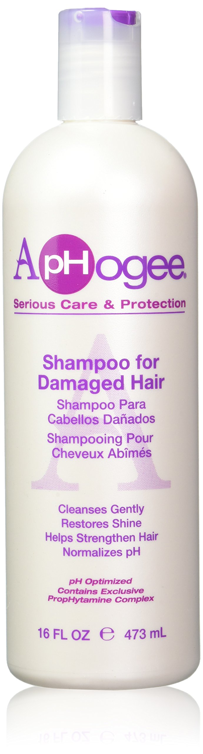 Aphogee Shampoo for Damaged Hair, 16 Ounce