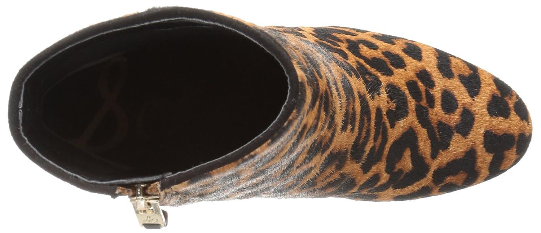 Sam Edelman Women's Taye Ankle B(M) Bootie B01M58LG8P 9.5 B(M) Ankle US|Brown/Black Leopard f4b496
