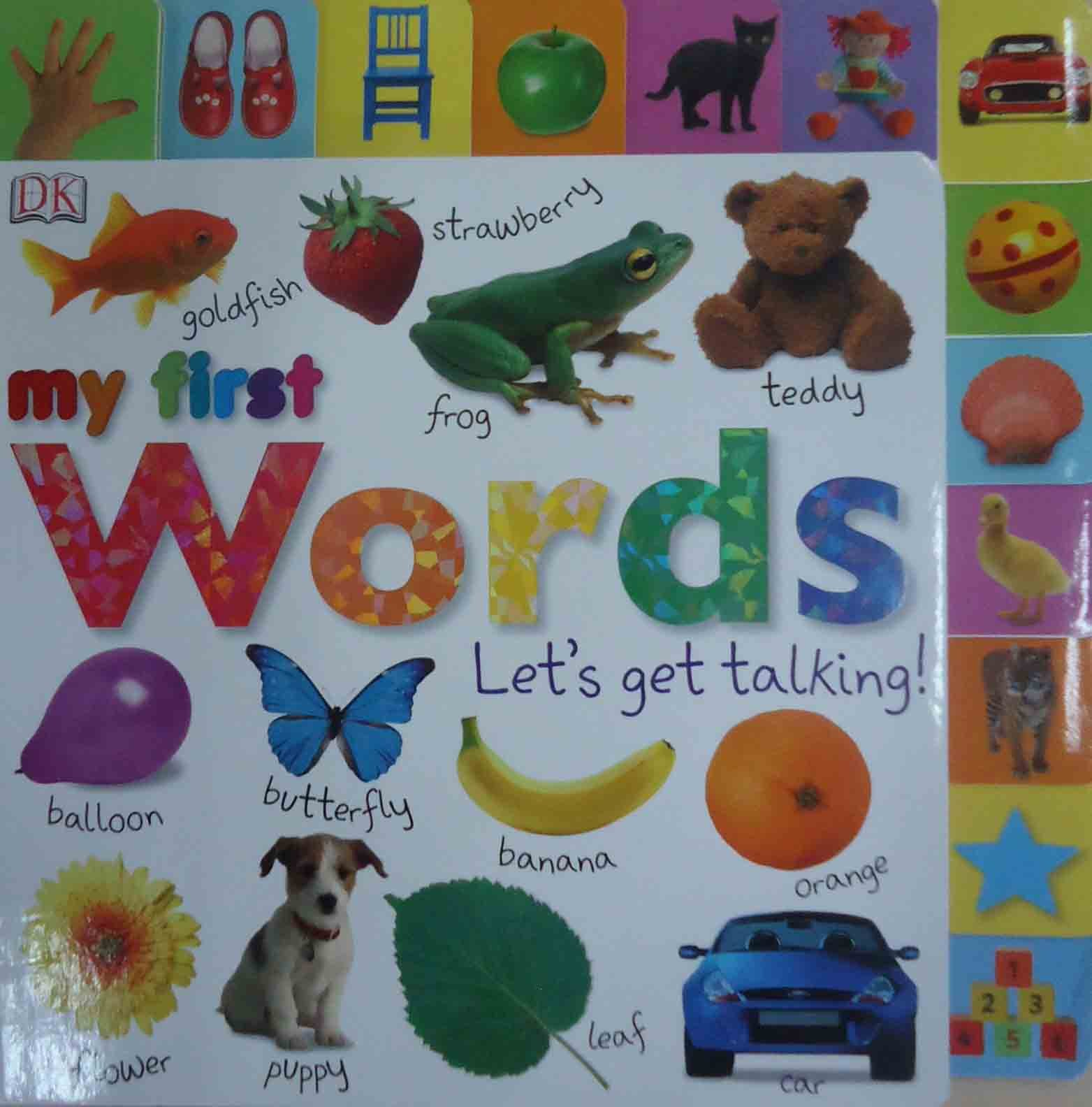 Tabbed board books my first words lets get talking tab board tabbed board books my first words lets get talking tab board books dk 9780756634315 amazon books fandeluxe Gallery