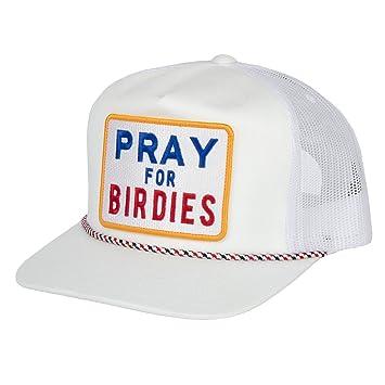 G Fore Pray pour Birdies Trucker Casquette snapback Snow – Taille Unique 45696329cca