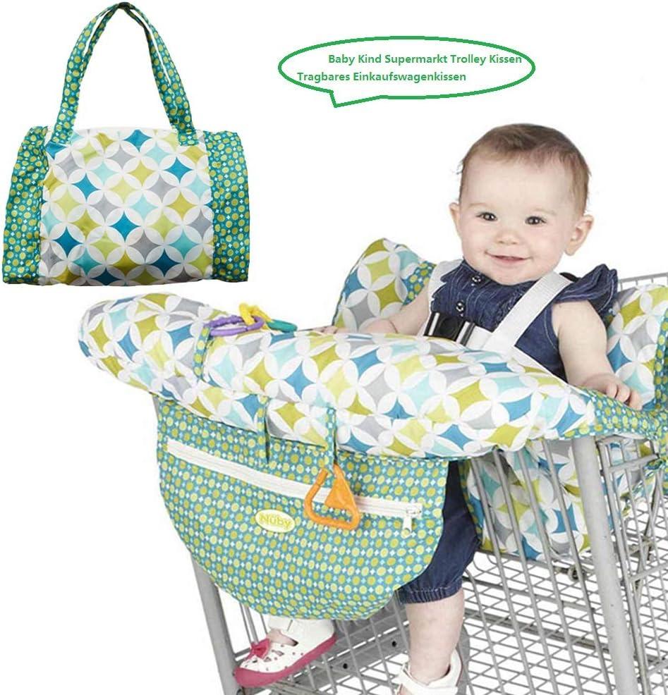 1 Seggiolone-compatto. Carrello spesa Copertina per neonato o bambino 2-in