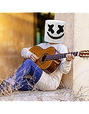 Supmaker DJ Marshmello Mask, Marshmello Helmet Cosplay Full Head Mask for Kids and Adult (DJ mask)