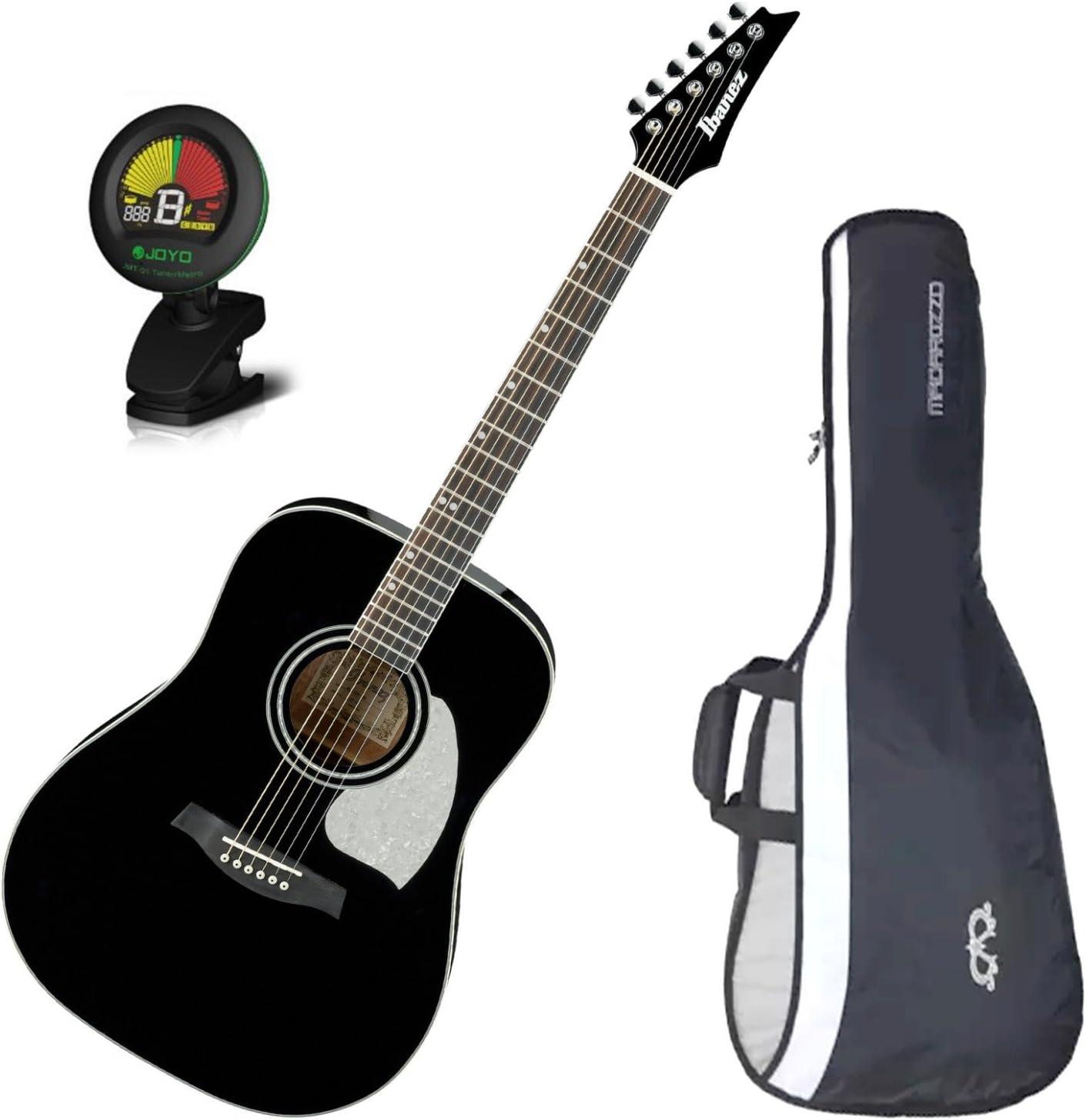 Ibanez ls300bk Lonestar guitarra acústica Negro brillante w/bolsa ...
