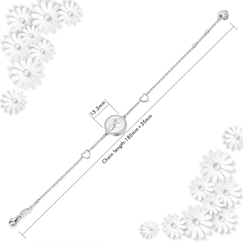 AmorAime - Pulsera de plata de ley 925 con símbolo de flecha en ...